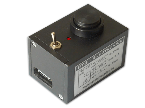 Photoelectric sensor for control thread integrity